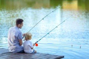 outdoor amenities including fishing