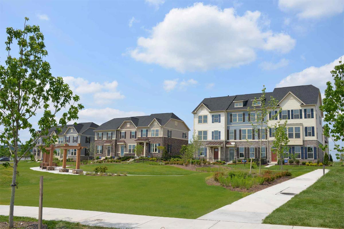 Townhomes Ryan Homes For Sale Lake Linganore